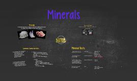 Copy of Minerals