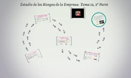 ESTUDIO DE LOS RIESGOS DE LA EMPRESA: 2º PARTE