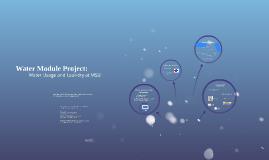 Water Module Project: