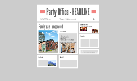 Party office 25102016