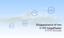 Disappearance of a C-113 CargoMaster