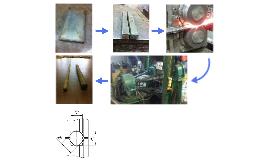 Технология восстановления титанового листа в прутки мелкого