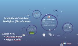Medición de Variables Analógicas (Termómetro)