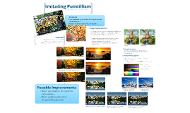 Imitating Pointillism