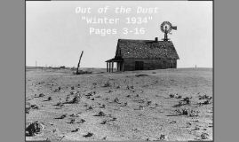 Out of Dust - Intro to POV of Narrator