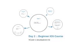Day 2 :: Beginner iOS Course
