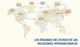 LOS ÓRGANOS DEL ESTADO DE LAS RELACIONES INTERNACIONALES