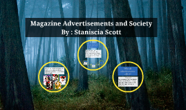 Magazine Advertisements and Society