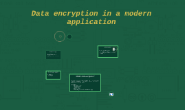 Data encryption in modern applications