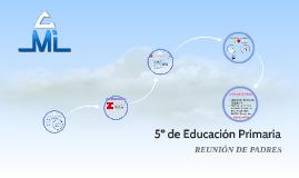 5º de Educación Primaria