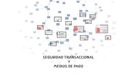 SEGURIDAD TRANSACCIONAL Y MEDIOS DE PAGO