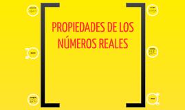 C2. Propiedad de los números reales
