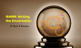 IR4099: Writing