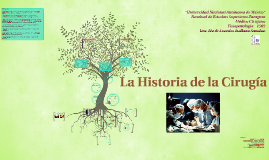 Copy of La historia de la cirugia