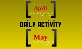Daily Activity 3