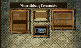 Naturalidad y Convención