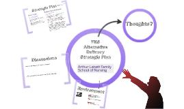 Copy of Nursing FHS Alternative Delivery Strategy