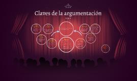 Copy of Claves de la argumentación