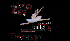 Història del ballet