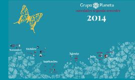 Novedades Planeta 2o semestre 2014