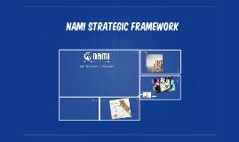 NAMI Strategic framework