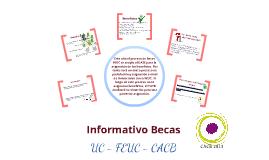 Informativo Becas 2013