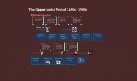 The Opportunist Period 1960s - 1980s