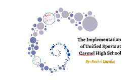 The Implementation of Unified Sports at Carmel High School