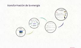 transformacion de la energia
