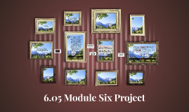 6.05 Module Six Project