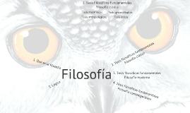Tesis Filosóficas Fundamentales 1 - Clásica