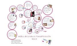 Copy of Análisis del producto: Cereal Fitness De Nestle