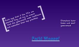 Farid Wassef