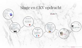 Stage en CKV opdracht