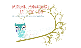 Copy of Final Project In I.T. Fundamentals