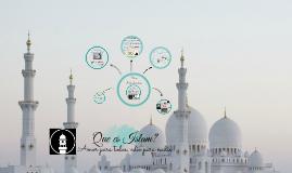 Que es islam?