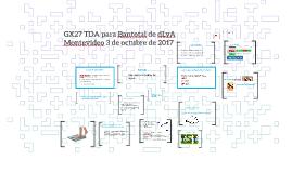 GX27 TDA para Bantotal de dLyA