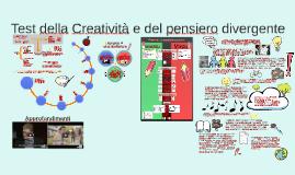 Copy of Test della Creatività e del pensiero divergente