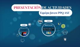 Copy of PRESENTACION DE ACTIVIDADES