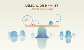 DELEGACIÓN D - I- 167