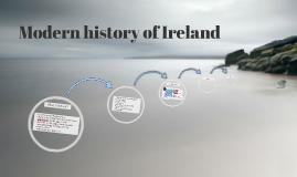 Modern history of Ireland