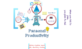 Personal Productivity & Time Management