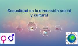 Copy of Sexualidad en la dimensión social y cultural