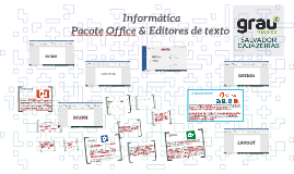 Informática Pacote office & Word