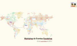 Workshop de Eventos Escoteiros