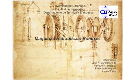 Copy of Maquinas Hidraulicas: Bombas