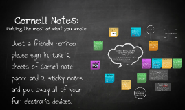 Copy of So What's the big deal about Cornell notes, anyway?