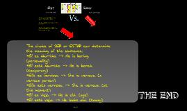 Copy of ser (versus estar)