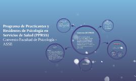 Programa de Practicantes y Residentes de Psicología en Servi
