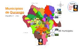 Municipios de Durango